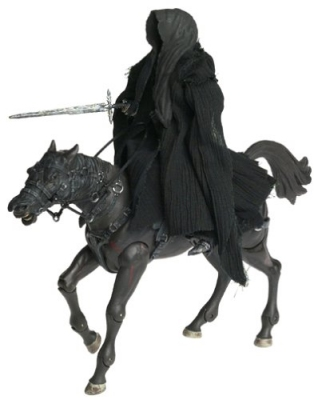 Lord of the Rings: Ring Wraith and Horse