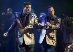 Bernie Mac and Samuel L. Jackson in \'Soul Men\'