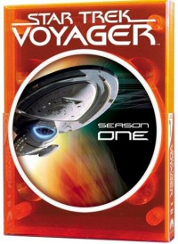 Star Trek Voyager: The Complete First Season DVD cover art