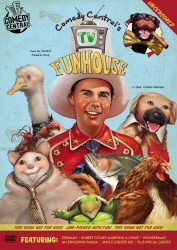 TV Funhouse DVD Cover Art
