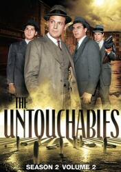 Untouchables Season 2 Volume 2 DVD Cover Art