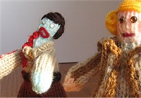 Dawn of the Dead in yarn
