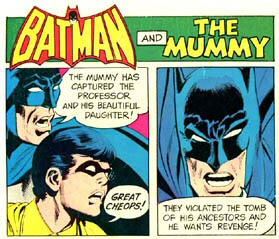 Batman vs. The Mummy for Hostess