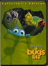 A Bug's Life: 1999 Collector's Edition DVD cover art