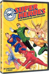 DC Superheroes: The Filmation Adventures DVD cover art
