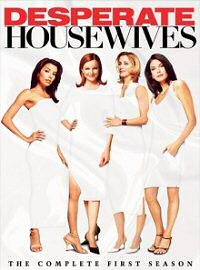 Desperate Housewives: The Complete First Season DVD cover art