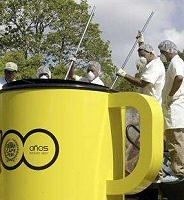 Giant Coffee Mug from Panama