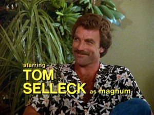 Starring Tom Selleck as Magnum