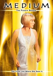 Medium: The Complete Fourth Season DVD cover art