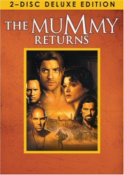 The Mummy Returns: 2-disc Deluxe Edition DVD cover art
