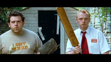 Nick Frost and Simon Pegg from Shaun of the Dead