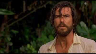 Pierce Brosnan as Robinson Crusoe