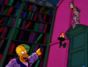 The Simpsons vs. The Raven