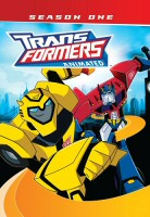 Transformers Animated Season One DVD Cover Art