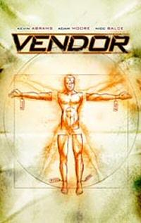 Vendor graphic novel cover art