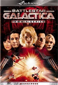 Battlestar Galactica: The Miniseries DVD cover art