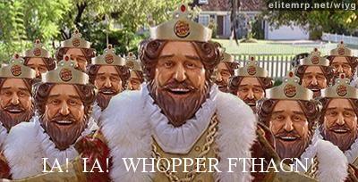 Burger King: Ia! Ia! Whopper Fthagn!