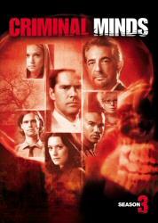 Criminal Minds Season 3 DVD cover art