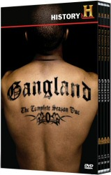 Gangland: The Complete Season One DVD cover art