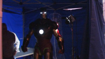 The Iron Man suit revealed from I Am Iron Man