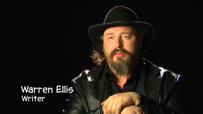Warren Ellis from the Iron Man DVD bonus features