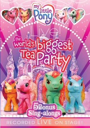 My Little Pony Live DVD cover art