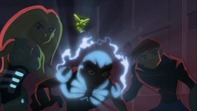 Torunn, Pym, Azari and James from Next Avengers