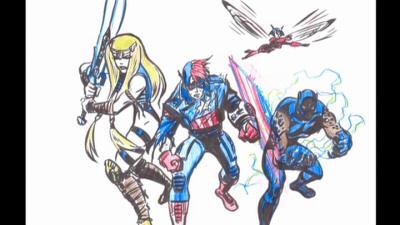 Next Avengers concept art