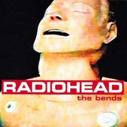 Radiohead: The Bends vinyl cover art