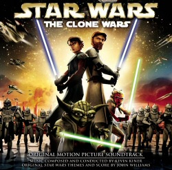 Star Wars: Clone Wars soundtrack cover art