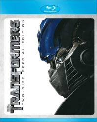 Transformers Blu-Ray cover art