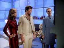 The cast of Buck Rogers in the 25th Century