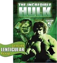 The Incredible Hulk Season 5 DVD cover art