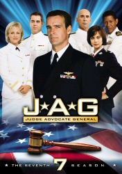 JAG: The Seventh Season DVD cover art