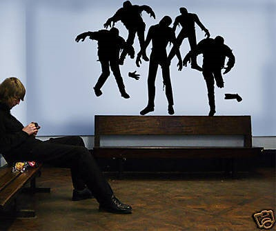 Living Dead Wall Decal