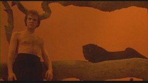 Malcolm McDowell (and friend) from Cat People (1982)