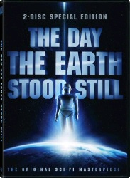 The Day The Earth Stood Still DVD cover art