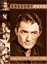 Gregory Peck Film Collection DVD cover art