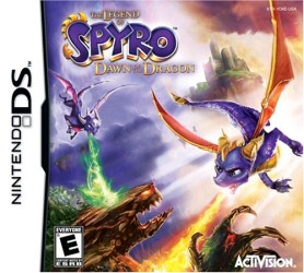 The Legend of Spyro: Dawn of the Dragon Nintendo DS cover art