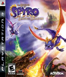 The Legend of Spyro: Dawn of the Dragon PS3 cover art