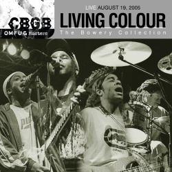 Living Colour CBGB Live CD cover art