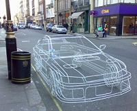 Benedict Radcliffe's wire car