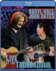 Daryl Hall and John Oates: Live at the Troubadour Blu-Ray cover art