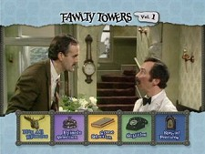 DVD Menu from Fawlty Towers