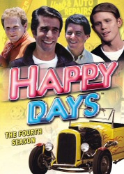Happy Days: The Fourth Season DVD cover art
