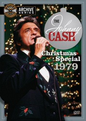 Johnny Cash Christmas Special 1979 DVD cover art