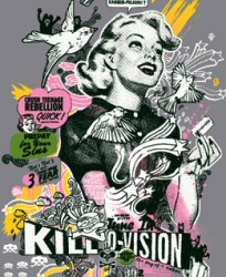 Killovision T-shirt from Go Ape Shirts