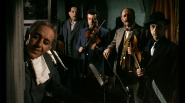 The gang from The Ladykillers (1955)