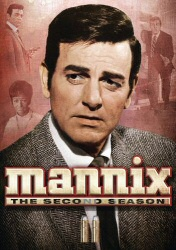 Mannix: The Second Season DVD cover art
