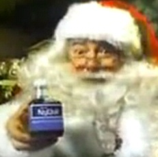 Santa Claus and NyQuil